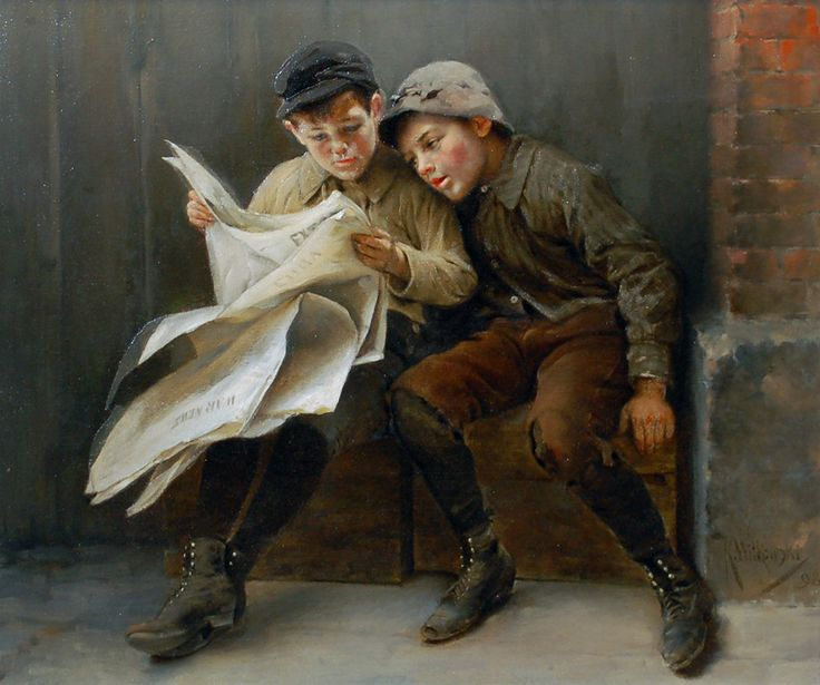 Karl Witkowski - The War News, 1898