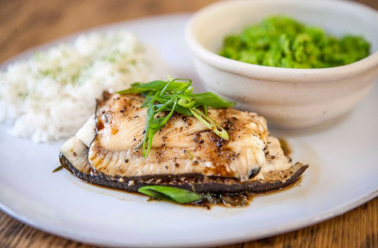 This fragrant Asian dish from SORTEDfood is perfect for spicing up those cold winter nights. Flaky, tender plaice is offset deliciously by aromatic soy, a rich blend of spices, fiery wasabi peas and floral jasmine rice.