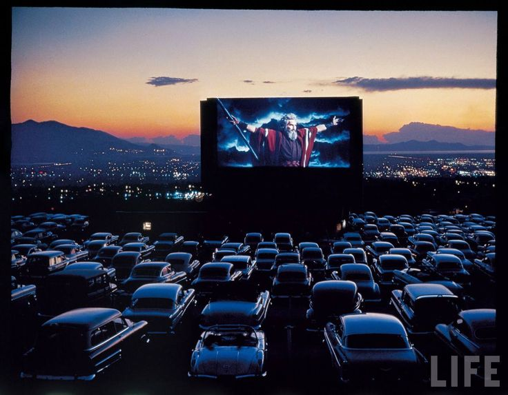 """Drive-in movies. My parents would put us in our pajamas and load us into the """"wayback"""" of the station wagon with pillows and blankets. We were much more interested in what we could get from the snack bar than we were in the movie, and were usually asleep long before the movie ended."""