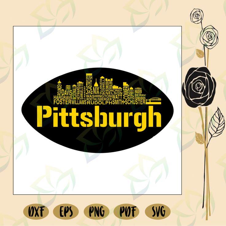 Pittsburgh Steelers skyline, Pittsburgh Steelers svg
