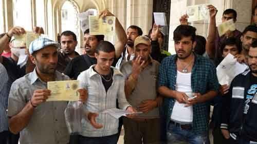 Immigrazione--protesta-profughi-davanti-al-Municipio-di-Udine-2