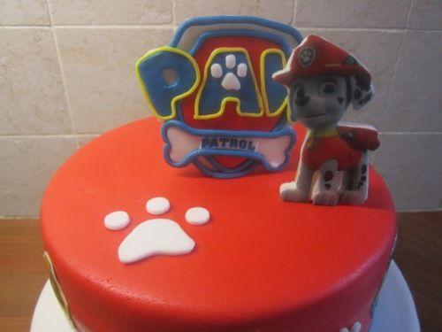 Afbeeldingsresultaat voor paw patrol taartdecoratie