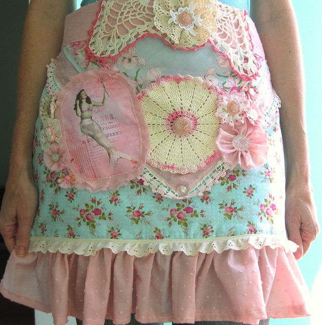 Mermaid apron.