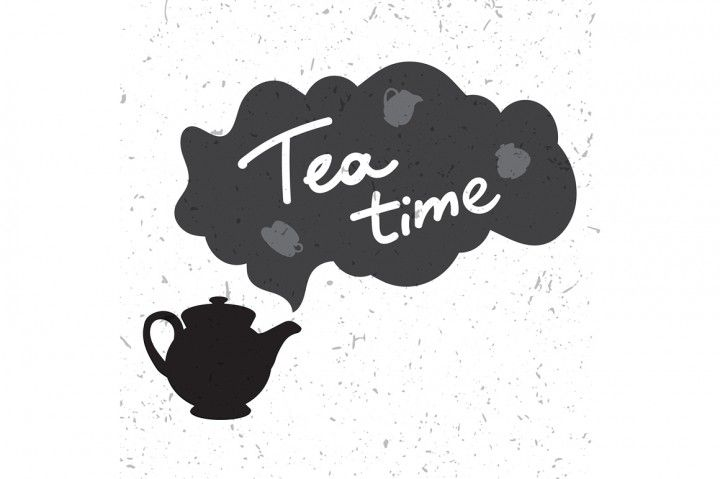 English Tea Time In Teapot By Barsrsind Shop