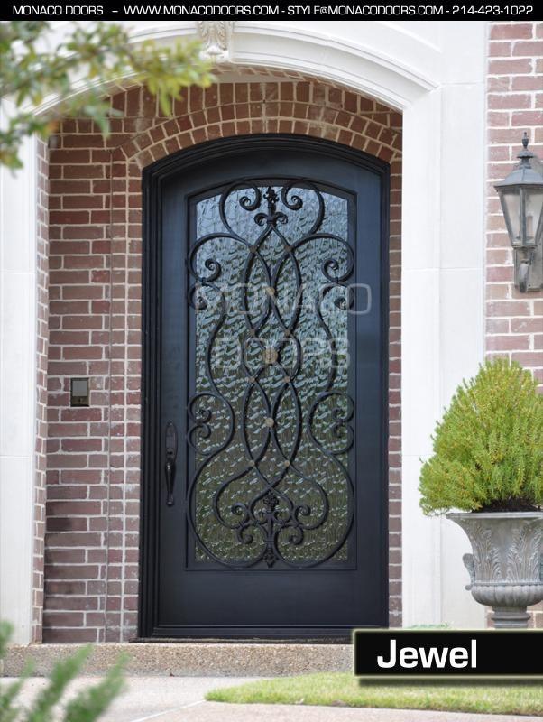 25 Best Ideas About Iron Doors On Pinterest Iron Front Door Wrought Iron Doors And Brick Arch