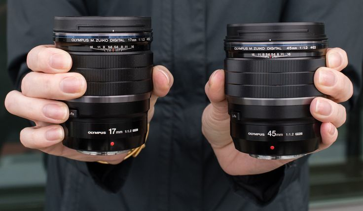 Первый взгляд на Olympus M.ZUIKO Digital ED 17mm и 45mm F1.2 Pro