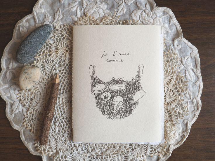 I love you like food loves my lovely beard !
