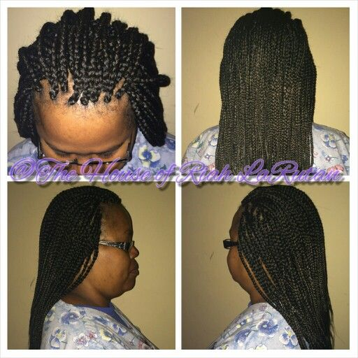 Crochet Box Braids Medium : Medium box braids, Box braids and Braids on Pinterest