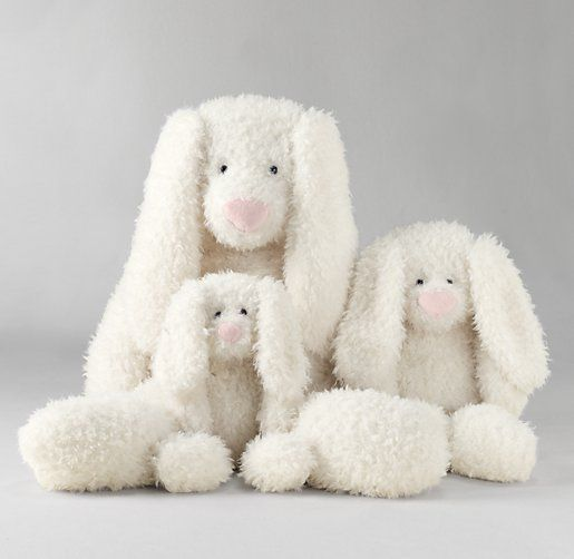 For the growth pictures - Shaggy Plush Bunny | Plush Gifts | Restoration Hardware Baby & Child