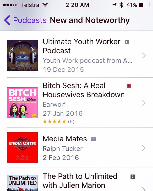Ultimate Youth Worker Podcast by Youth Work podcast from Aaron Garth https://itun.es/au/t9oW_.c