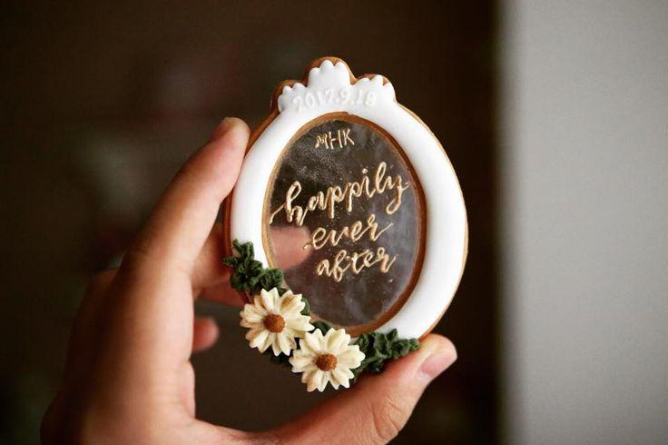 Wedding Cookie by YuYu