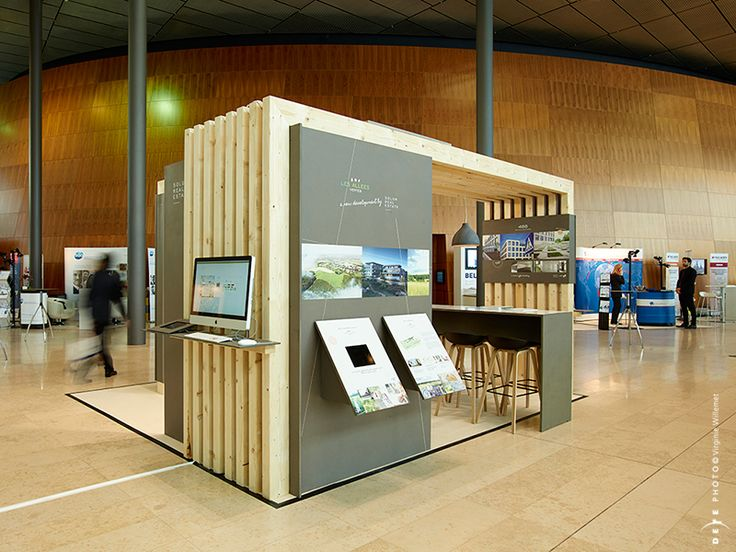 Modular Exhibition Stands S : Booth concept design for fiabci elfy interior
