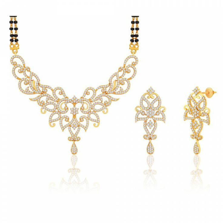 Peora | Manorama - 18 Karat Gold Plated - Mangalsutras - Women's Jewellery - Jewellery | Fine Silver Jewellery