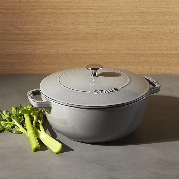 Staub 3.75-Qt. Essential French Oven in Graphite Gray, $149.99