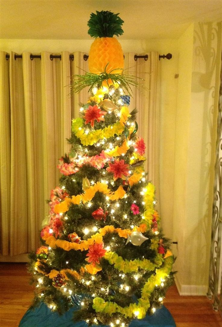 25 Unique Tropical Christmas Trees Ideas On Pinterest