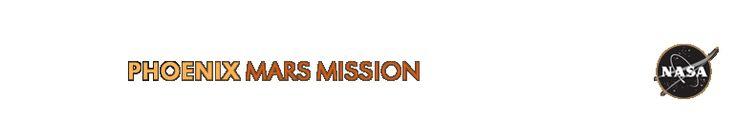 UA Phoenix Mars Mission