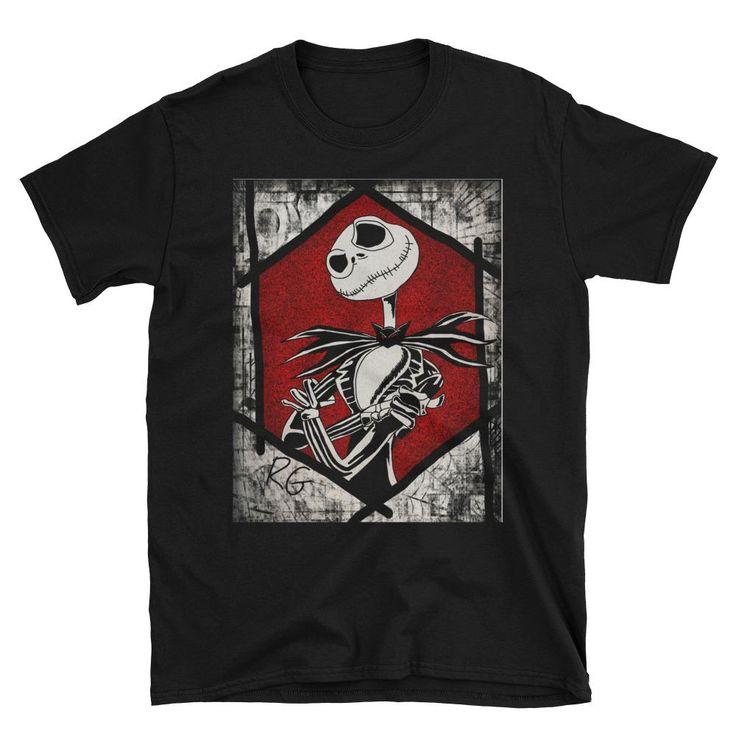 Jack Skellington Short-Sleeve Unisex T-Shirt
