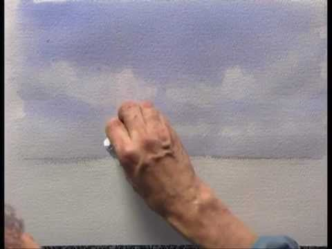 ▶ DVD - Improve Your Skies in Watercolour with Geoff Kersey - YouTube