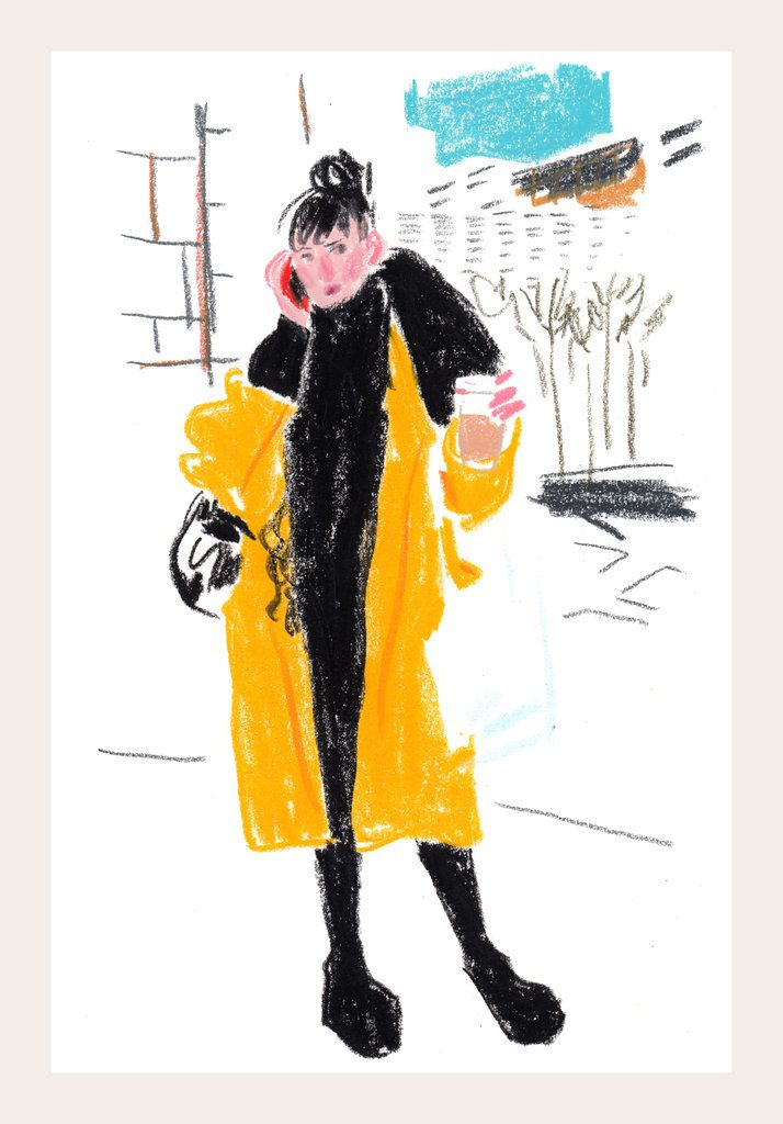 Snap Sketch   Justin Vivian Bond, Penny Arcade and the Faces of New York Fashion Week, Fall 2014