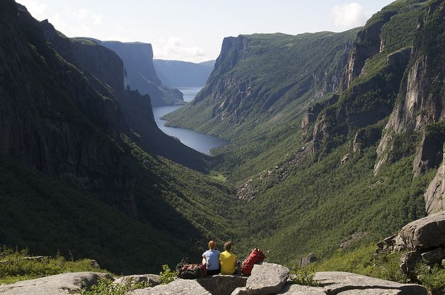 Western Brook Pond, Gros Morne National Park by Newfoundland and Labrador Tourism