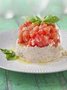 Tartare de tomates et thon : Recette de Tartare de tomates et thon - Marmiton
