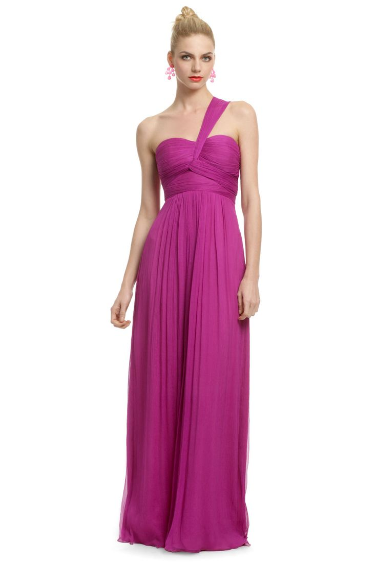 Magenta Orchid Gown - wish I had somewhere to where to this