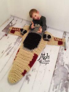 XWing Star Wars Crochet Blanket Pattern