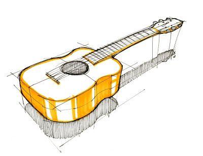 Sketch-A-Day #139: Guitar Spencer Nugent