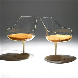 Erwine & Estelle Laverne - Champagne chairs, 1957
