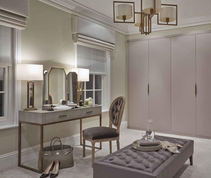 Lovely dressing area | Sophie Patterson Design | Closet ...