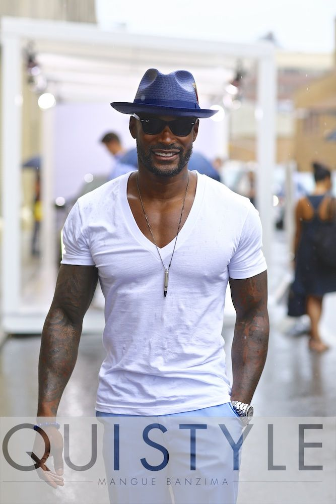 Tyson Beckford for NYFW MEN'S