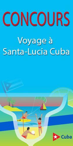 Concours – voyage à Santa-Lucia, Cuba. Fin le 2 mai.  http://rienquedugratuit.ca/concours/santa-lucia-cuba/
