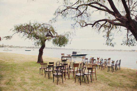 Nicole & Dave's handmade Fremantle Wedding