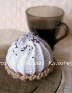 Creative workshop Krivosheeva Natalia. Details - Baskets with cream crochet. Master class