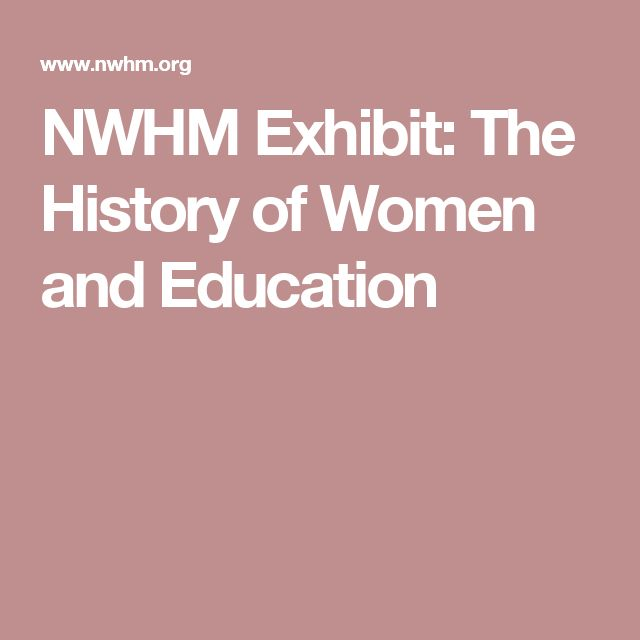 the history of women in education essay This essay will provide a brief historical overview of the educational experiences of girls and women in the united states dating from the early colonial settlement years to the present time from dame schools in.
