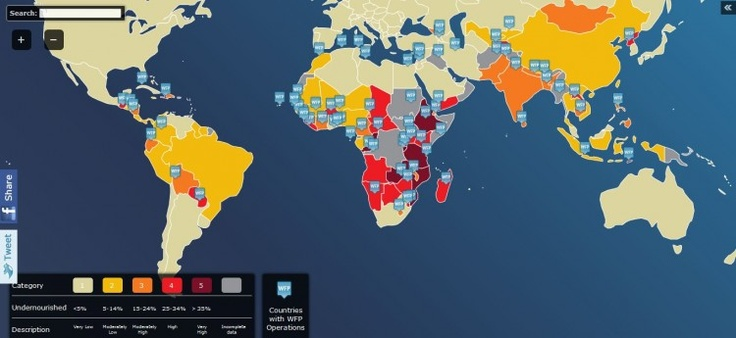 Hunger Map [Interactive]