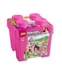 LEGO® Juniors Princess Small Brick Box Playset.