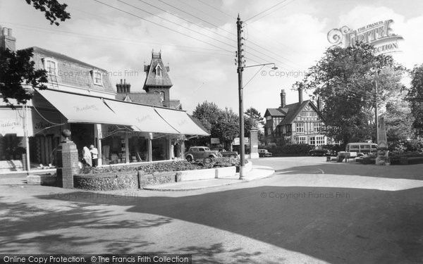 Burgess Hill, Hoadley's Corner c.1960, from Francis Frith