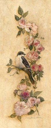 delicate, feminine. If a bird, similar to a american goldfinch like I saw all the time at Grandma's