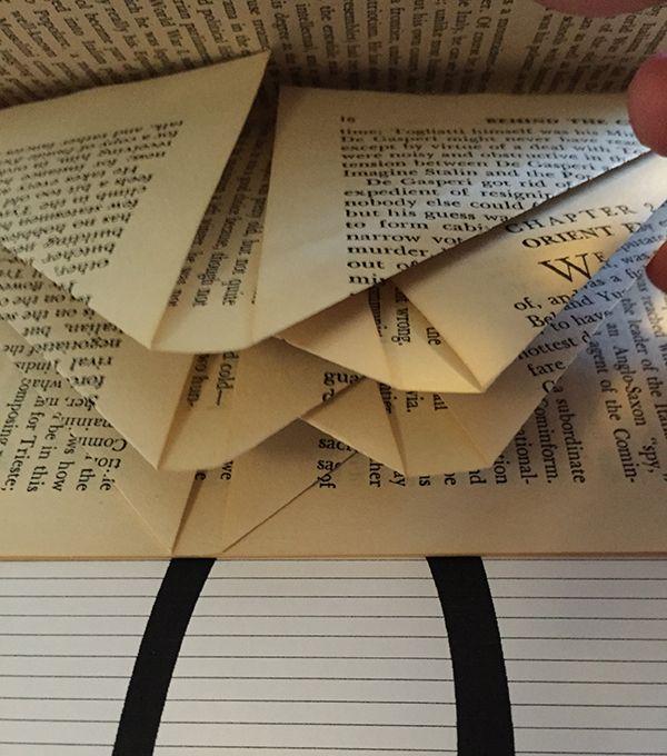 book folding.... alternate interruptions