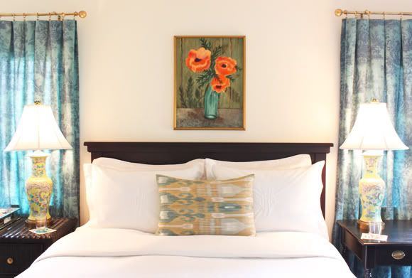 Little Green Notebook: Room Tours: Jenna's Rental Bedroom Redo