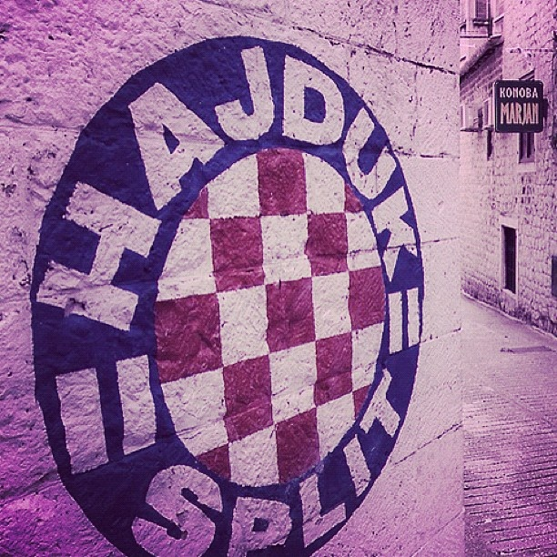 "@darkomajic's photo: ""#hajduk #split #croatia #torcida #love"""