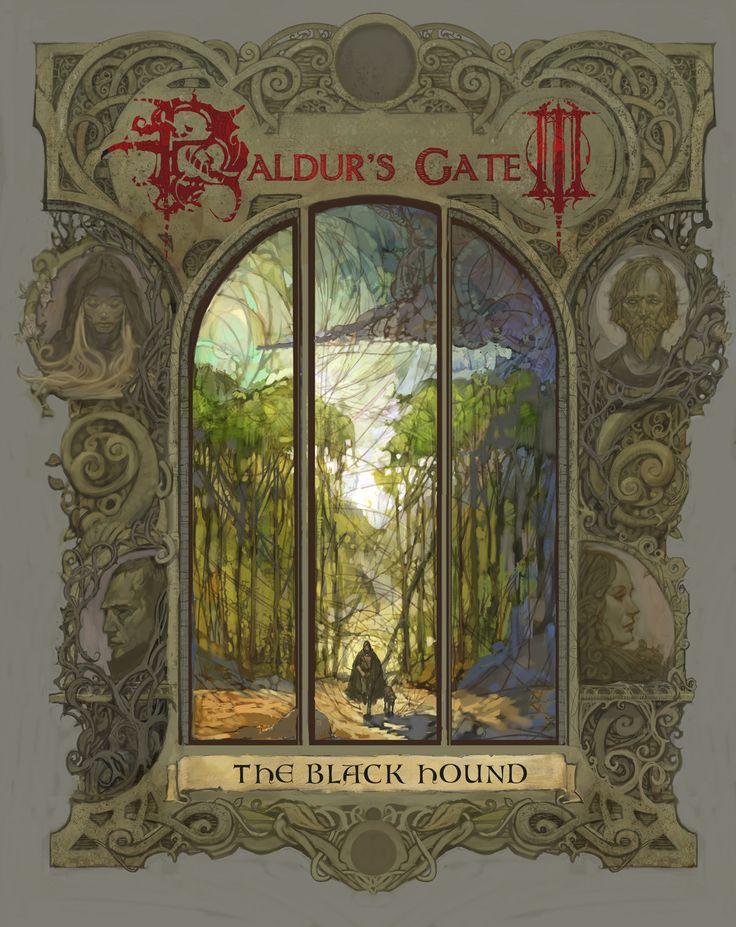 Baldur's Gate III: The Black Hound, Vance Kovacs on ArtStation at https://www.artstation.com/artwork/POWV1