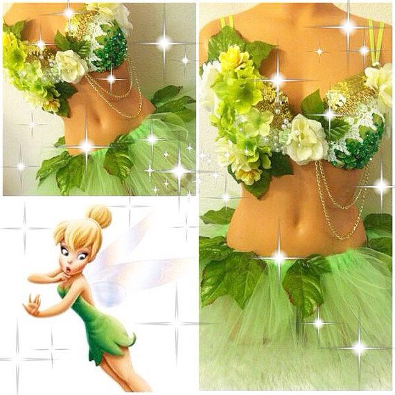 Tinkerbell Outfit by TheLoveShackk on Etsy