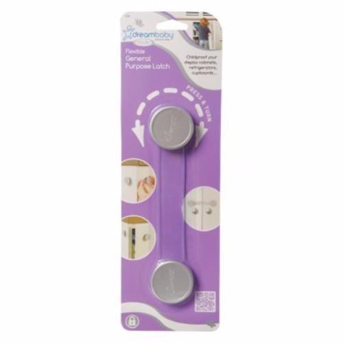 Dreambaby General Purpose Child Safety Latch - Silver