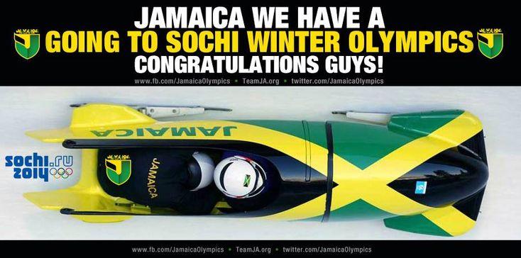 L'équipe de bobsleigh de la Jamaïque sera aux JO de Sotchi! - Rasta Rockett, le retour!