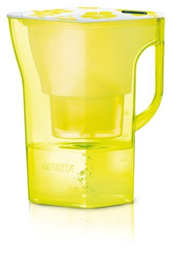 BRITA Navelia Cool Water Filter Jug, 2.3L   Yellow BRITA Https://