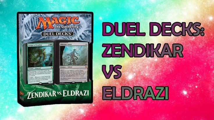 MTG - Duel Decks Zendikar VS Eldrazi opening