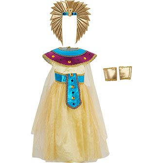 Yellow Egyptian Queen Costume