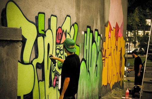 makin grafitti